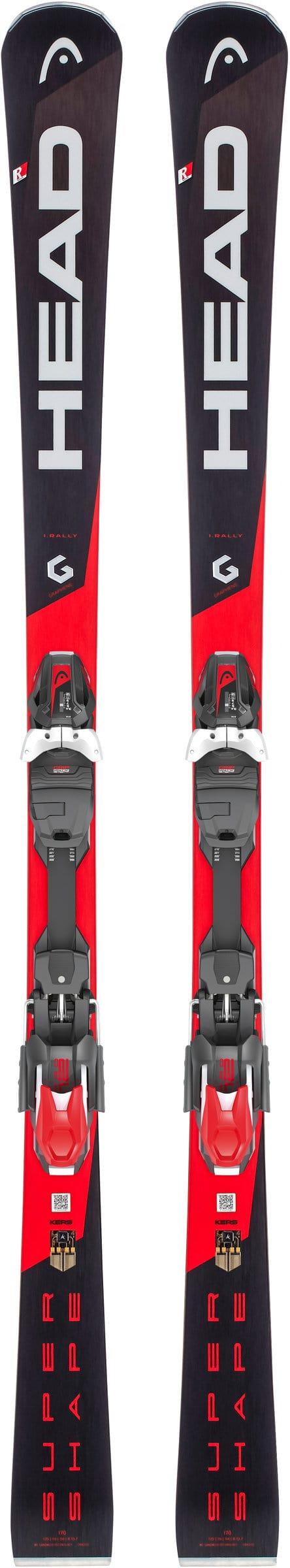 Head Supershape i. Rally SW inkl. PRD 12 GW Sci On Piste con attacchi