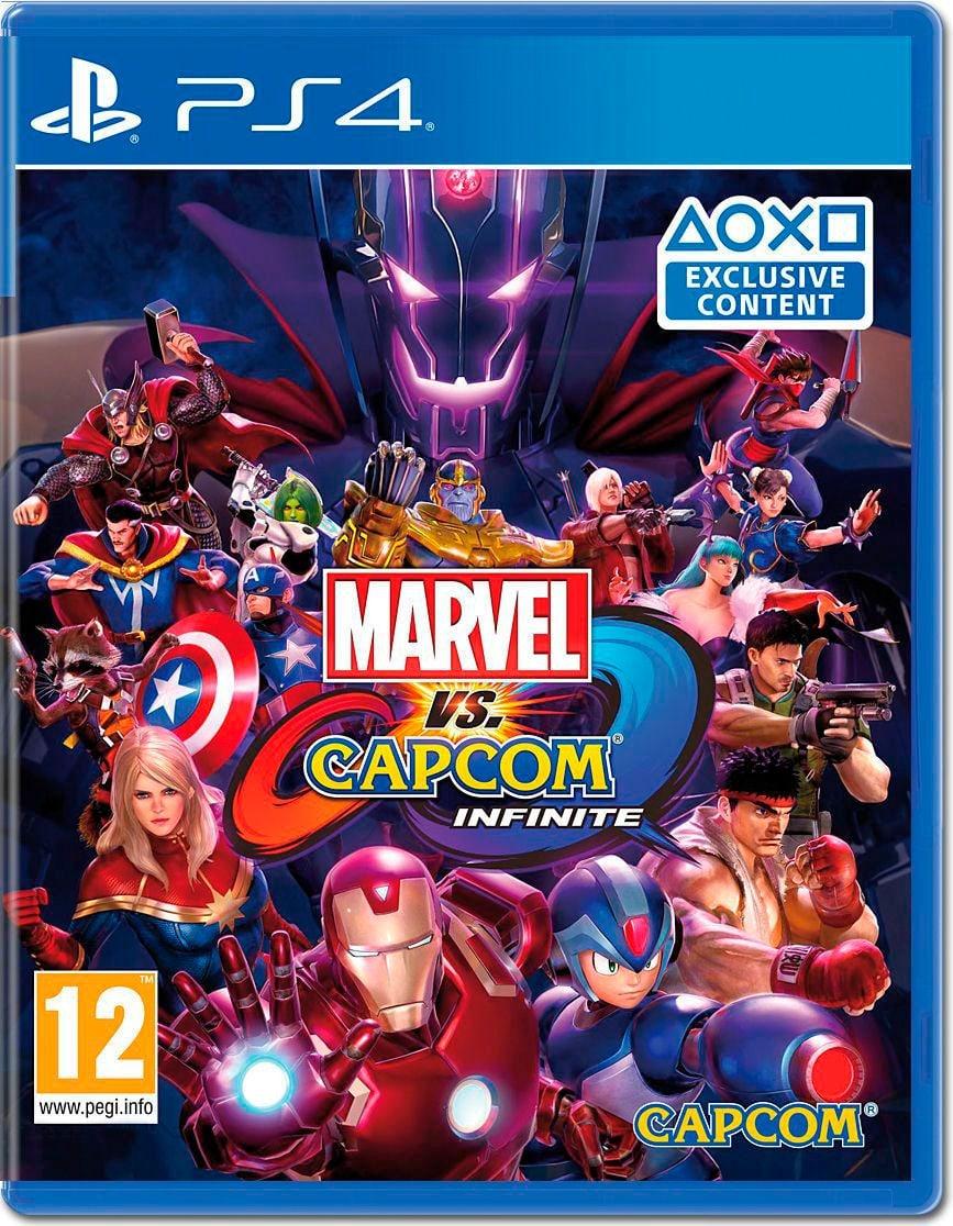 PS4 - Marvel vs Capcom Infinite Box