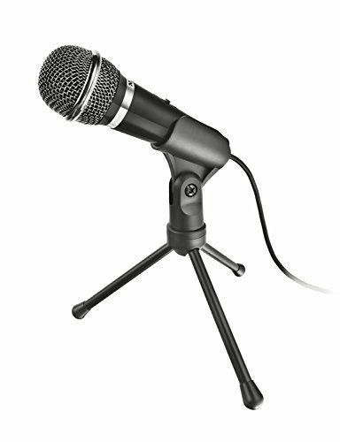 Trust Starzz All-round Microphone pour PC and laptop