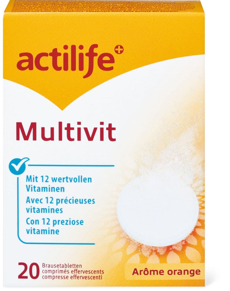 Actilife multivit Arôme orange