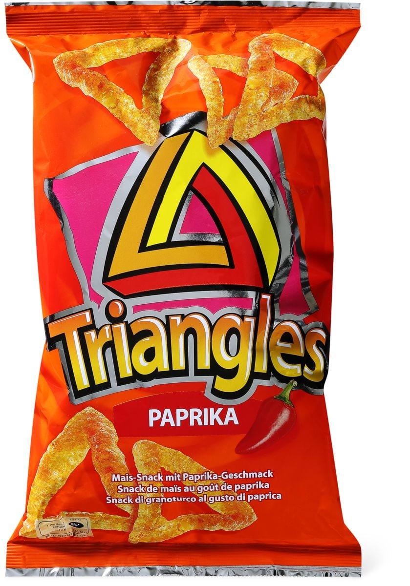 Triangles paprika