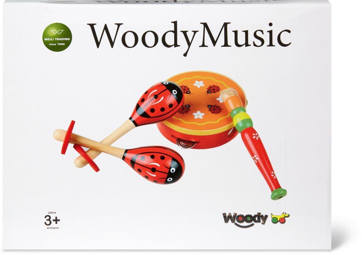 Woody Musikset aus Holz (FSC®) Musik