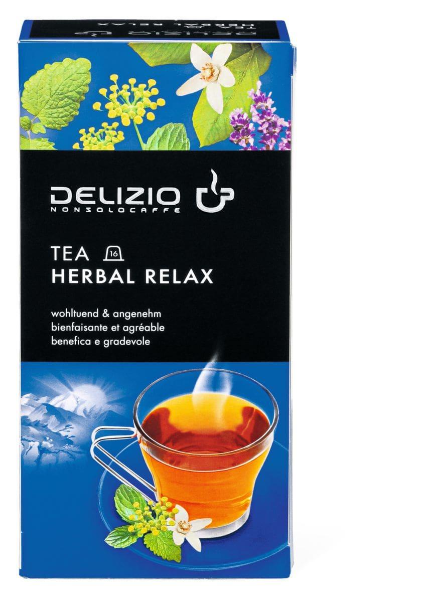 Delizio Tea Herbal Relax 16 capsules