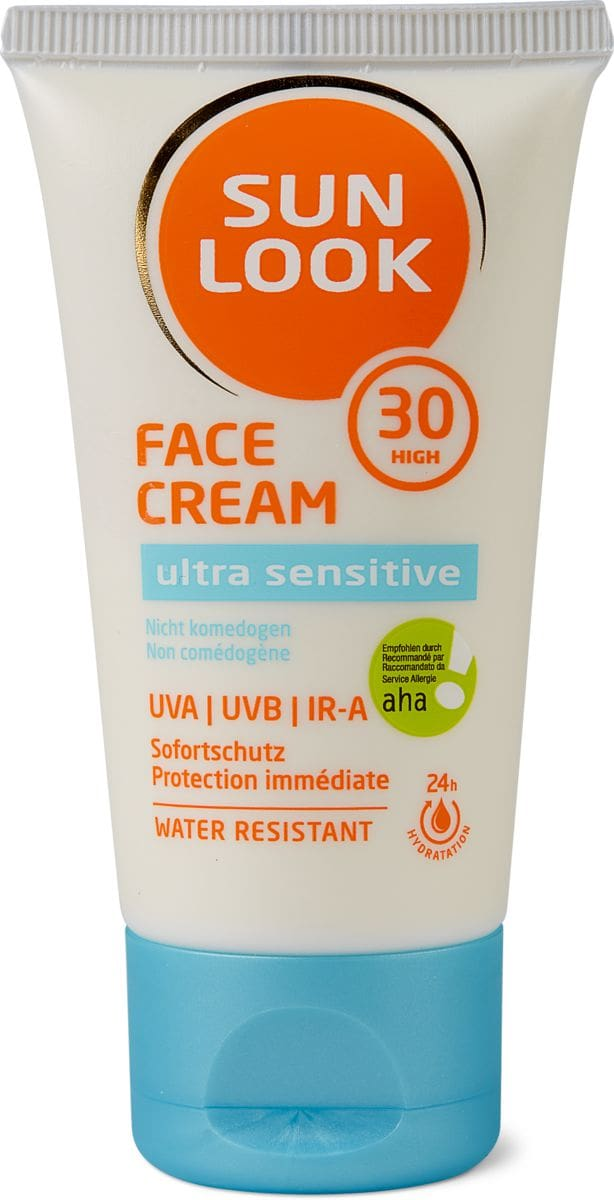 Sun Look Ultra Sens Face Cream SF30 IRA