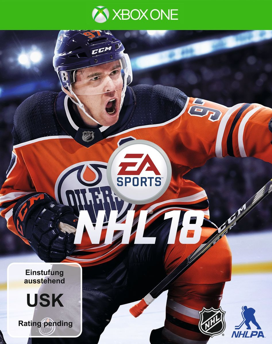 Xbox One - NHL 18 Box