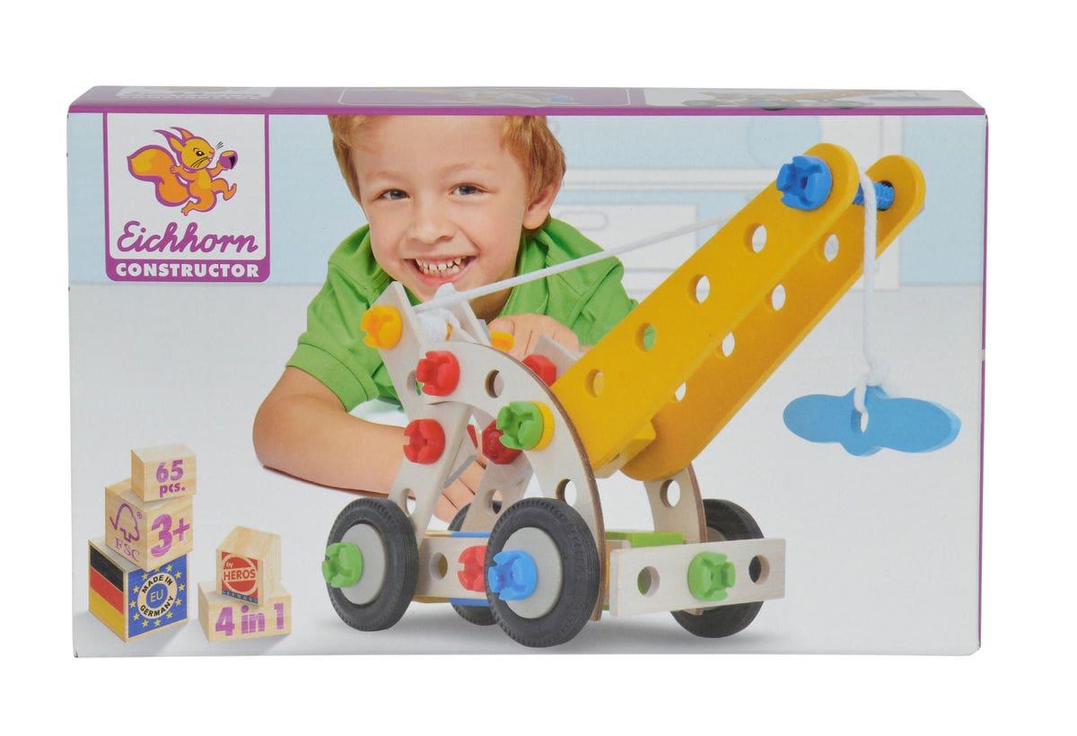 Eichhorn Heros Constructor, Mobile Crane (FSC®) Spielset