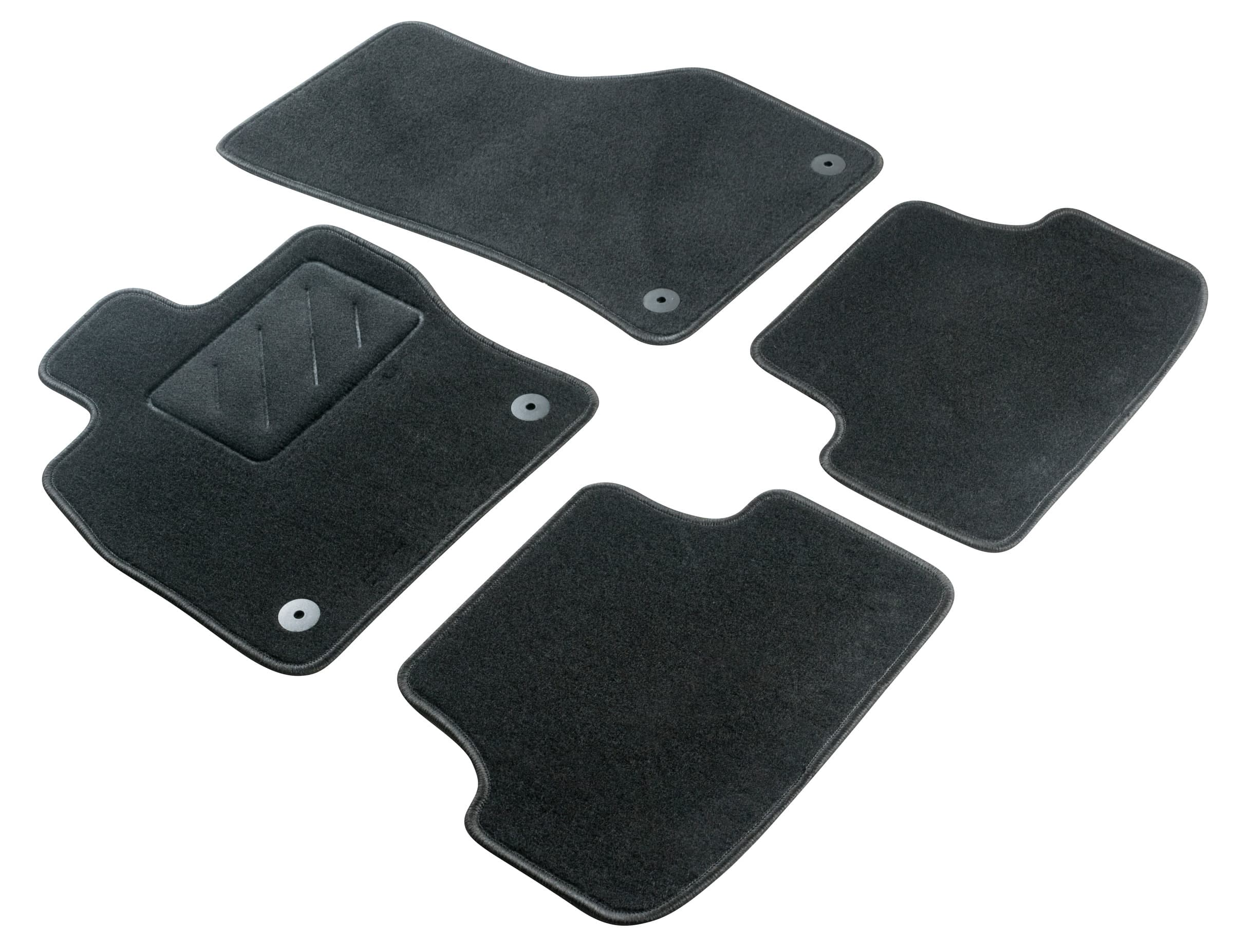 WALSER Tappetini per auto Standard Set Skoda Q4338