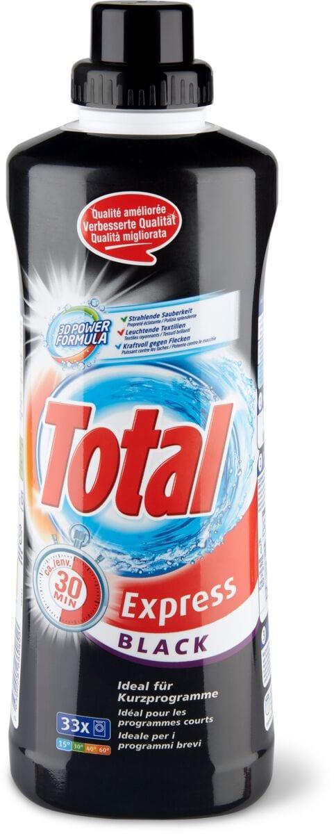 Total Express Black détergent