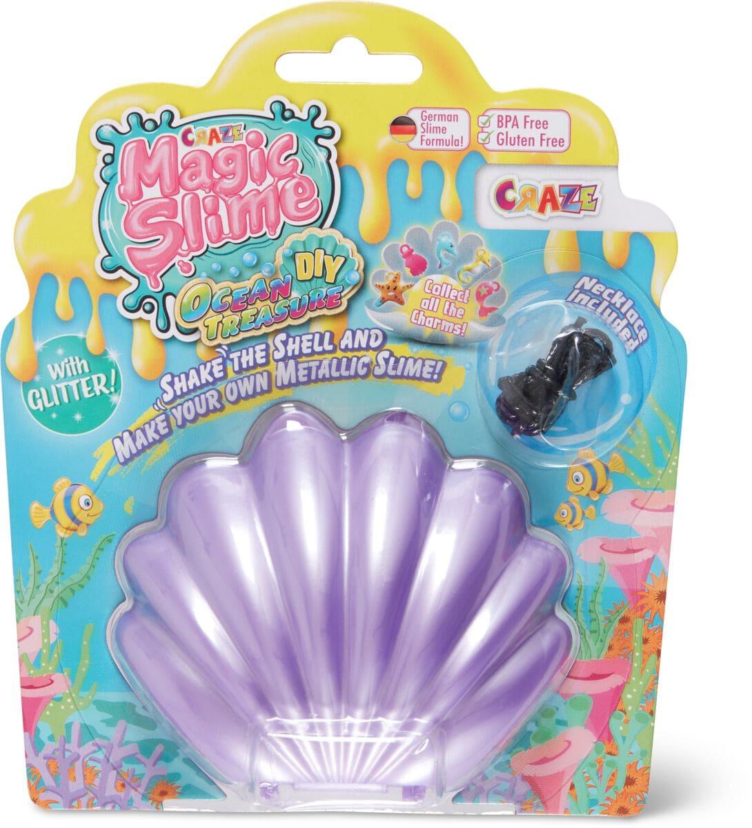 Craze Magic Slime Ocean Treasure DIY Modelieren