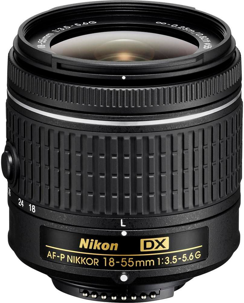 Nikon Nikkor AF-P DX 18-55 1:3,5-5,6G Obiettivo Obiettivo