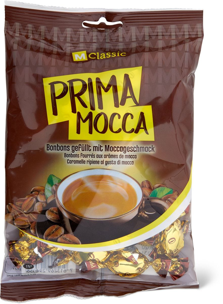 M-Classic Prima Mocca gefüllt