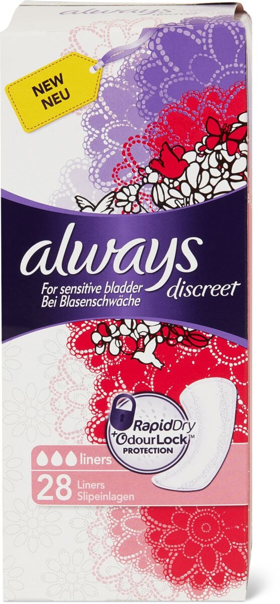 Always Discreet Serv. Hygièniques