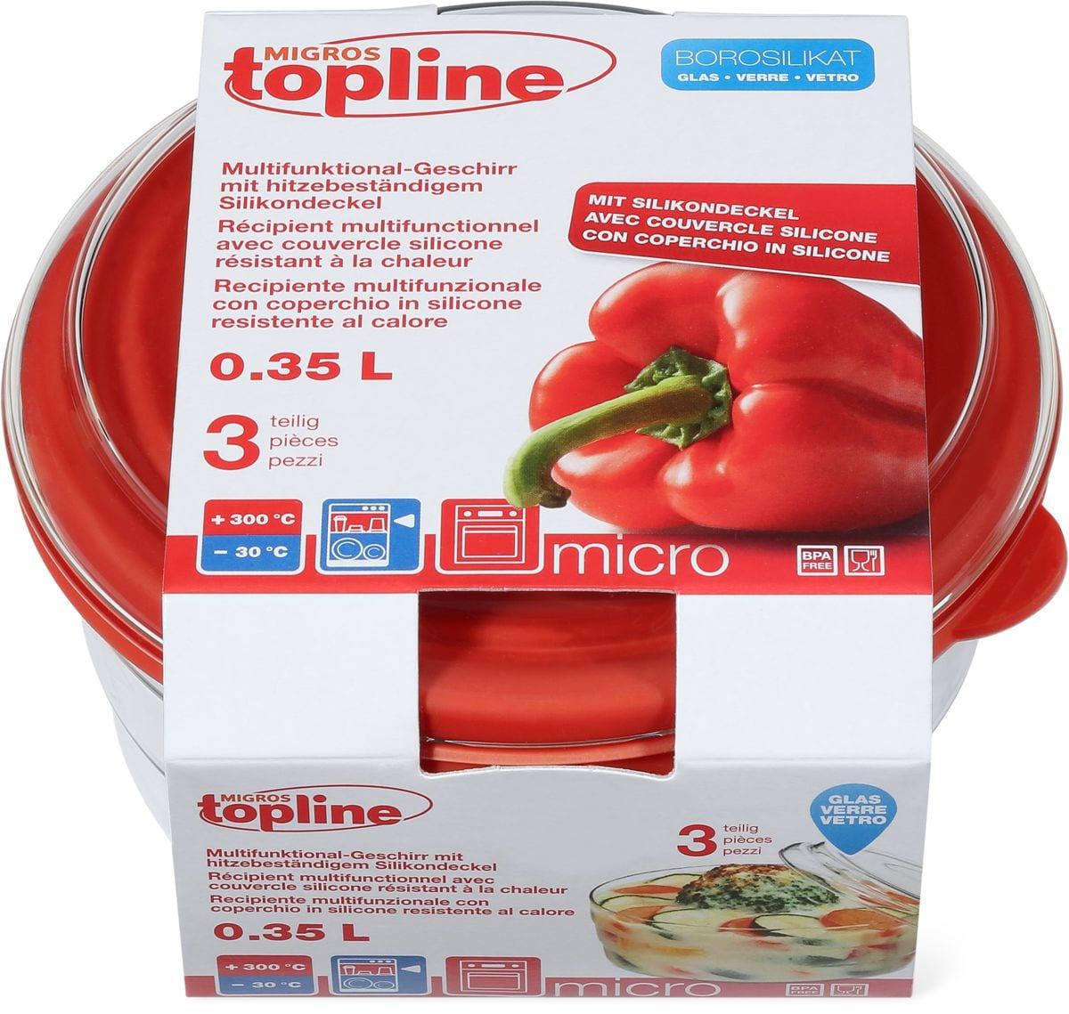 M-Topline MICRO Contenitore multifunzionale 0.35L