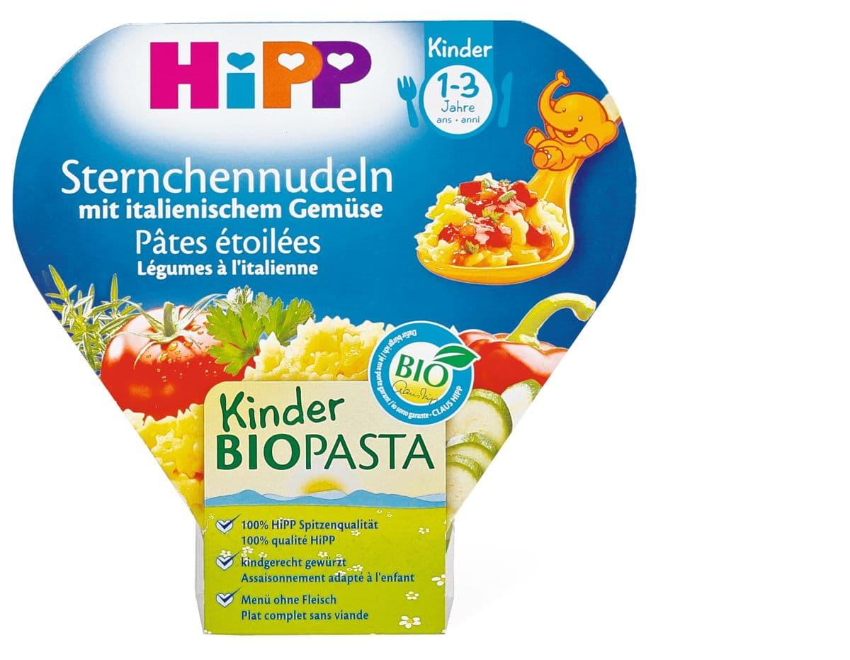 HiPP pâtes avec des légumes