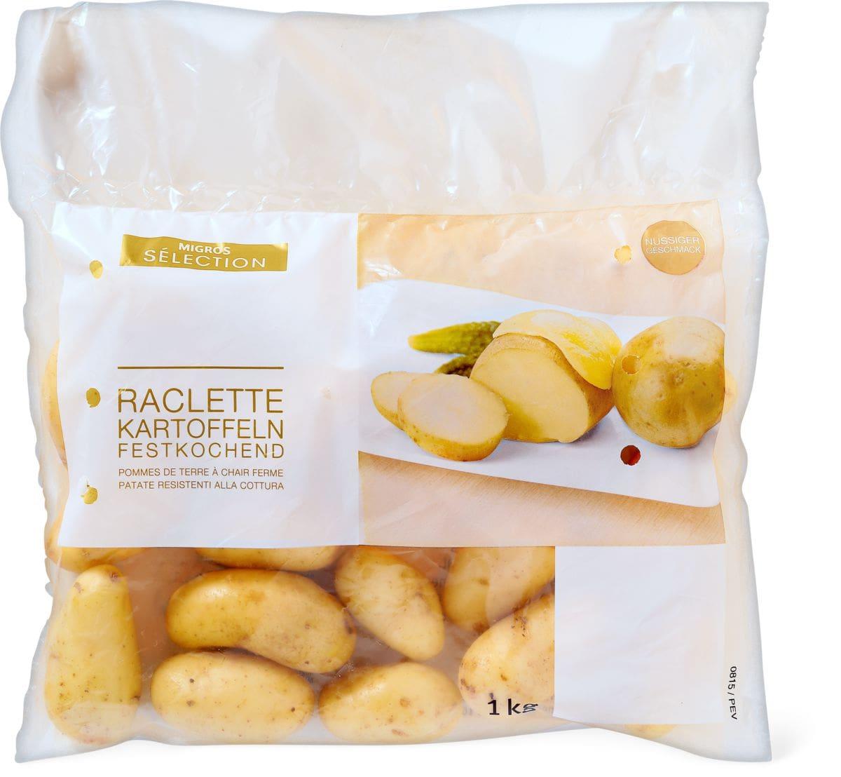 S lection pommes de terre raclette - Quantite pomme de terre raclette ...