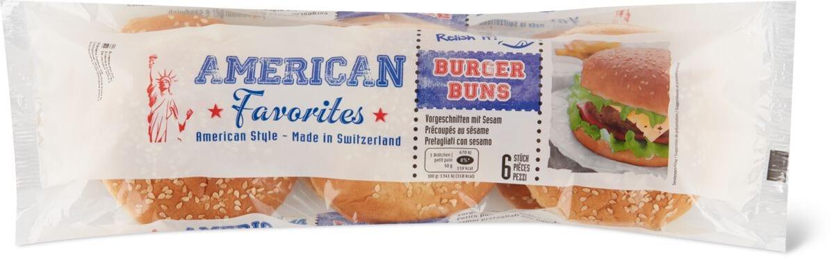 American Favorites Buns au sésame