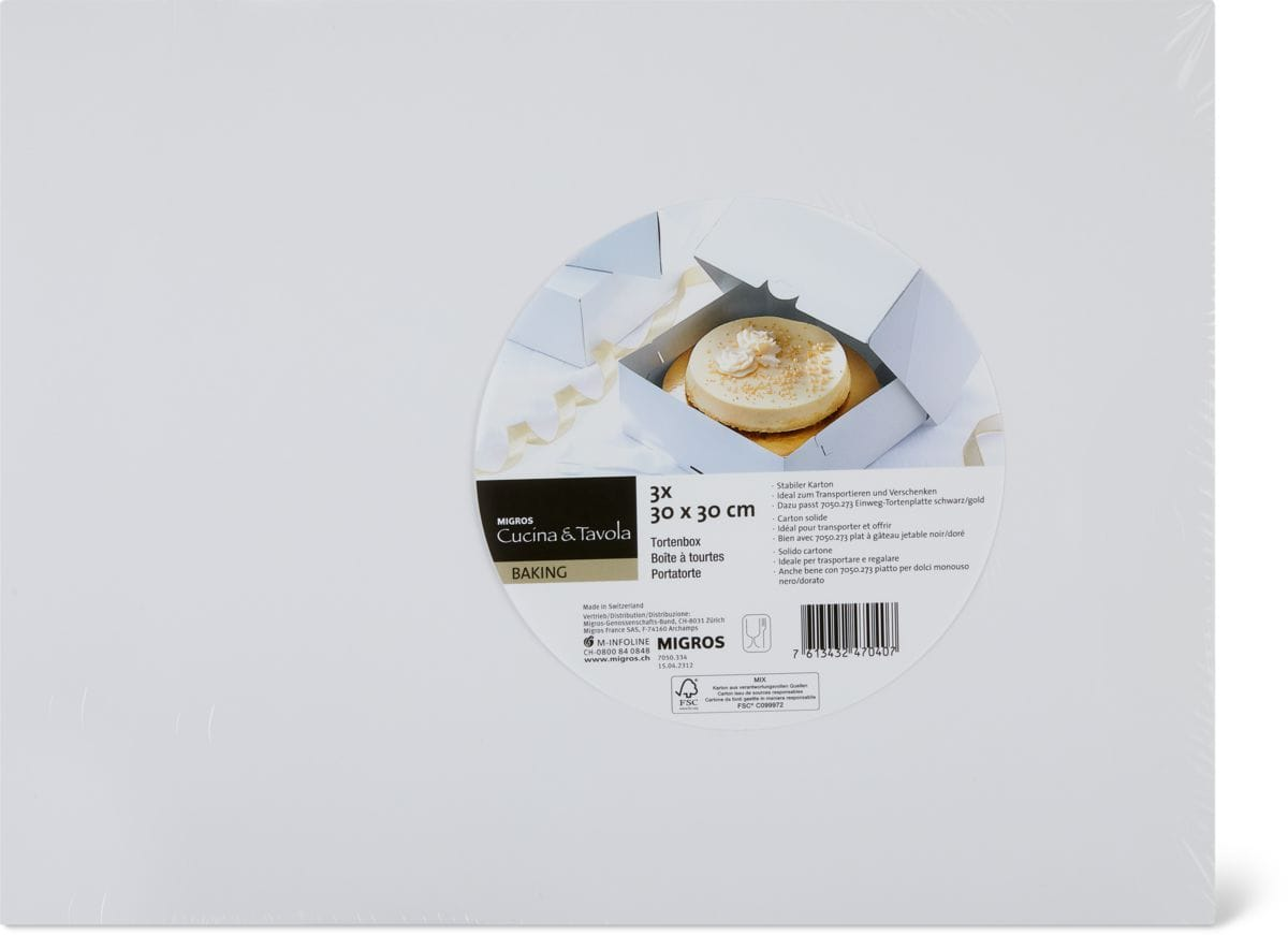 Cucina & Tavola Tortenbox 30 cm
