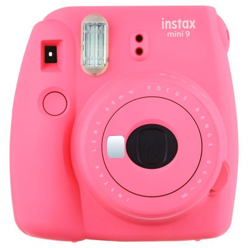 FUJIFILM Instax Mini 9 Flamingo Pink Fotocamera istantanea