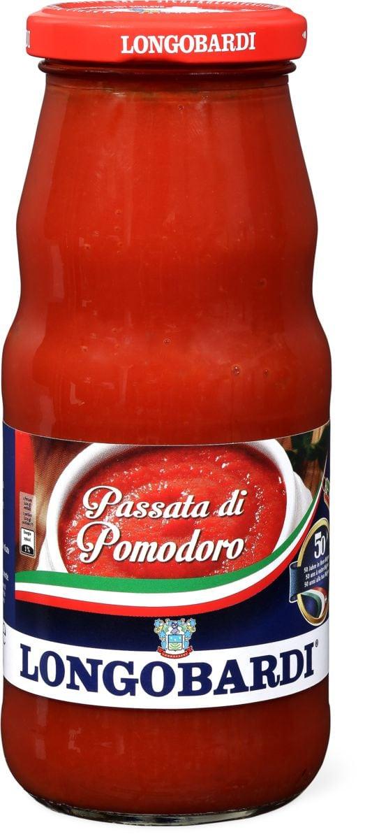 Longobardi Pizza Sauce Mit Basilikum Migros Migipedia