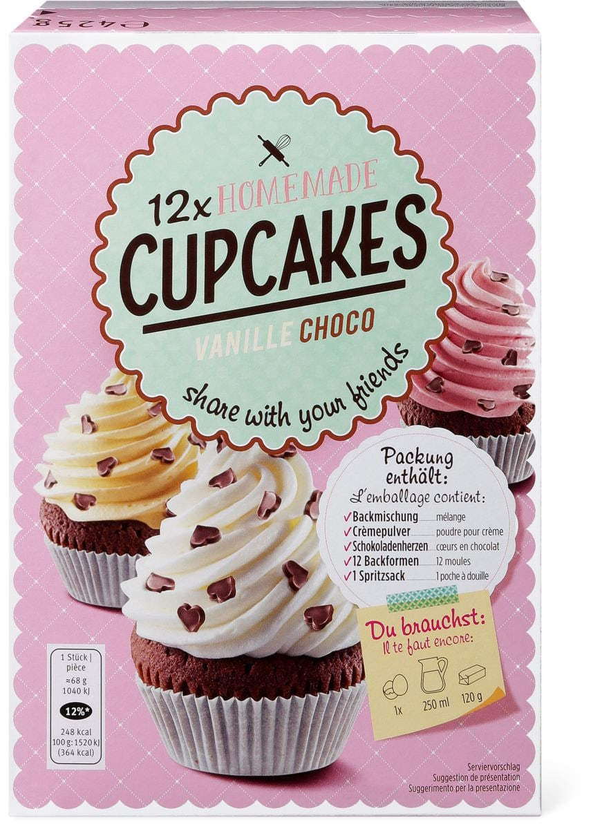 CupCakes Vanille-Choco