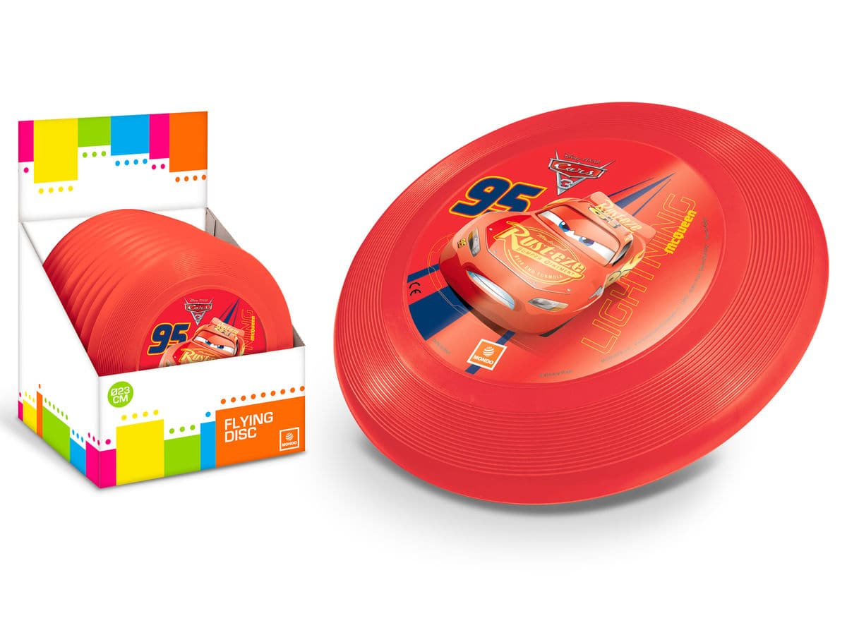 Mondo Frisbee Cars / Frozen 23 cm Sport