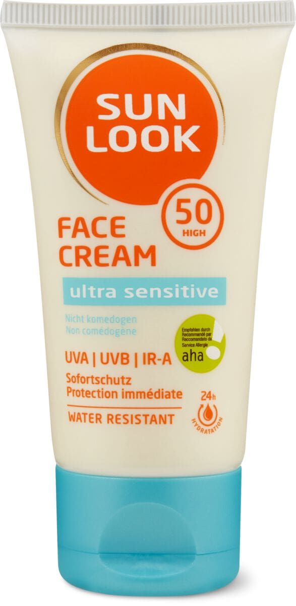 Sun Look Ultra Sensitive Face Cream SF50 IRA