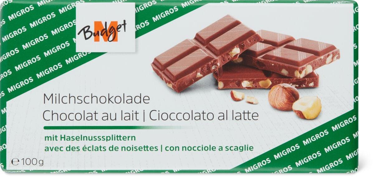 M-Budget Chocolat au lait noisette
