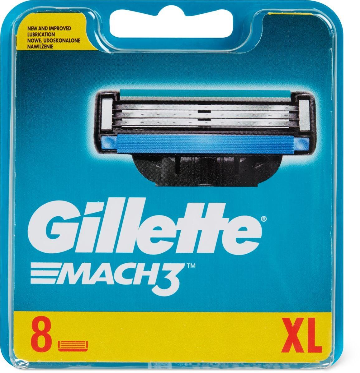 Gillette Mach3 Lames de rechange