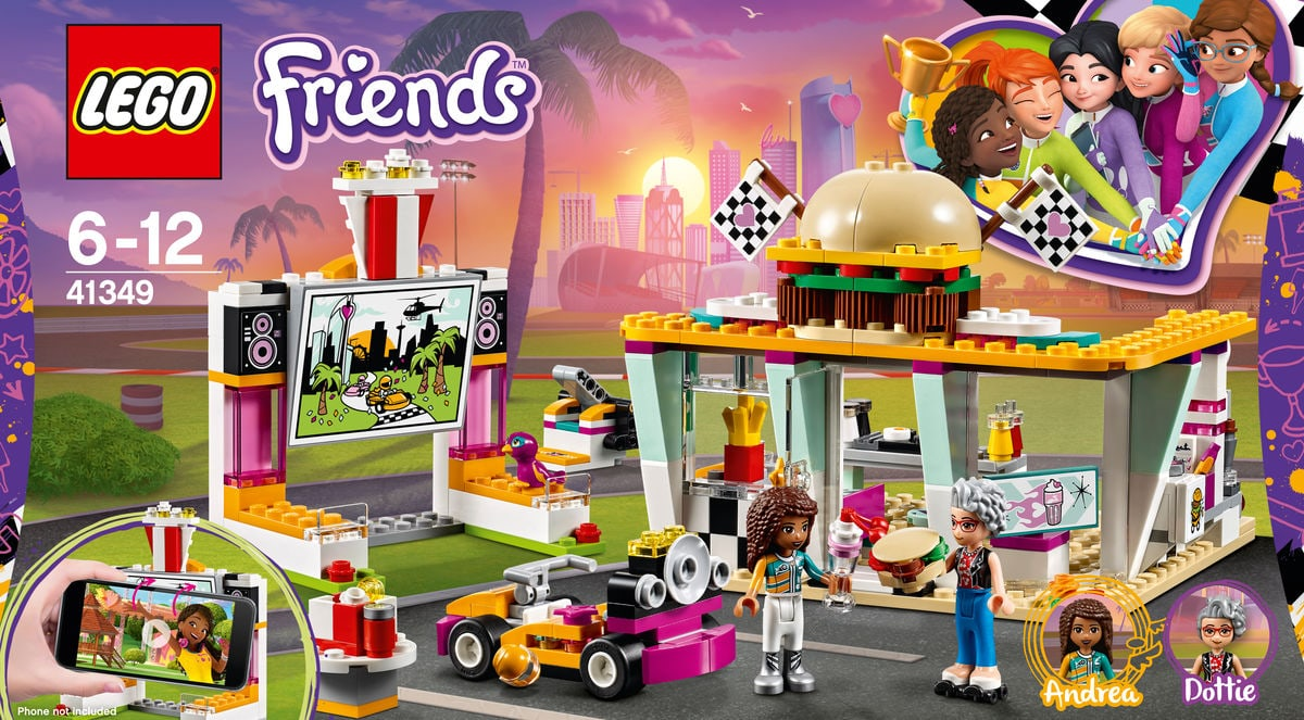 Lego Friends Il fast-food del go-kart 41349