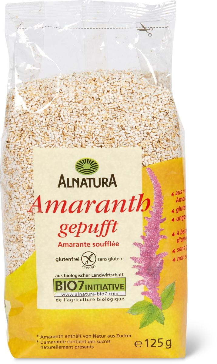 Alnatura Amaranth gepufft