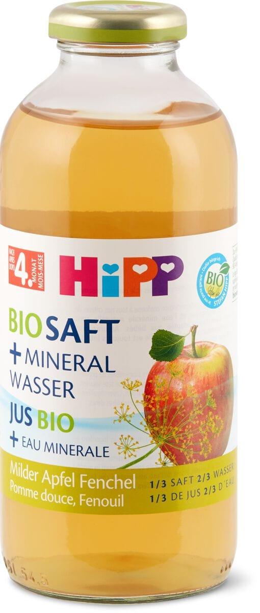 Bio HiPP tisane au fenouil & jus pommes