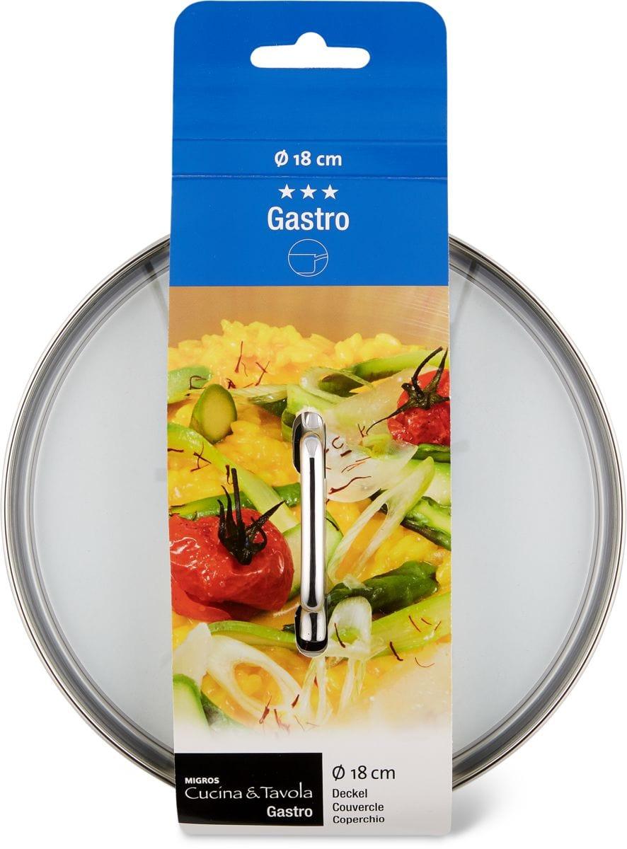 Cucina & Tavola GASTRO Couvercle 18cm