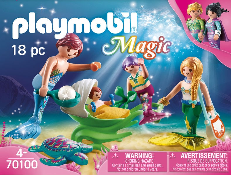 PLAYMOBIL® 70100 Famille de sirènes