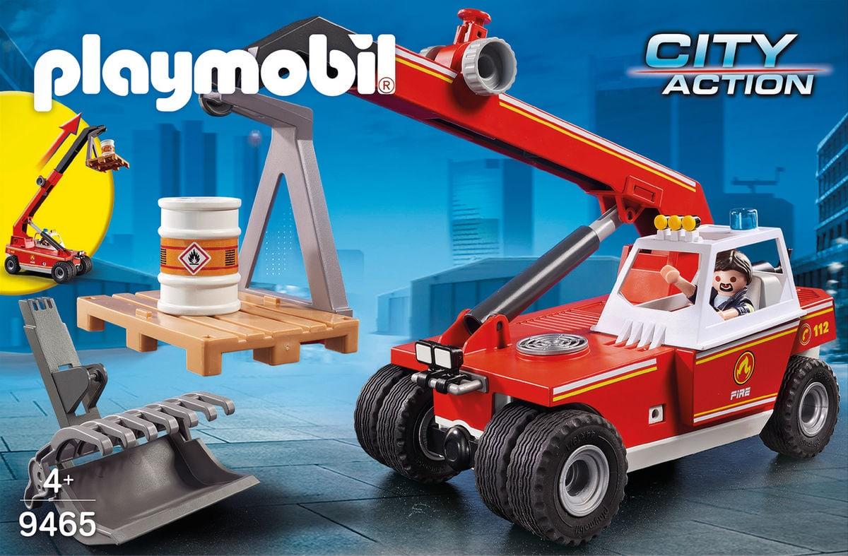 Playmobil 9465 Feuerw.Teleskoplader