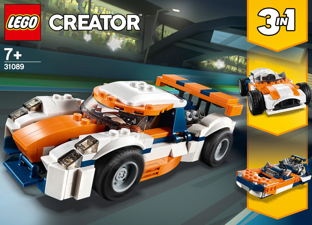 LEGO Creator 31089 La voiture de co