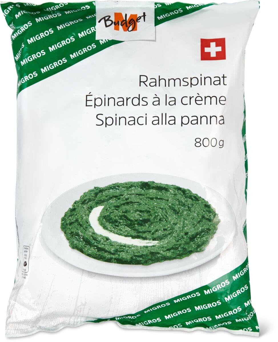 M-Budget spinaci alla panna