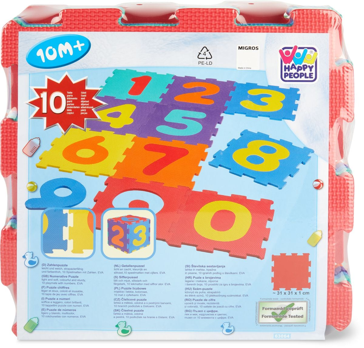 Puzzle Matte Outdoor-Spielzeug