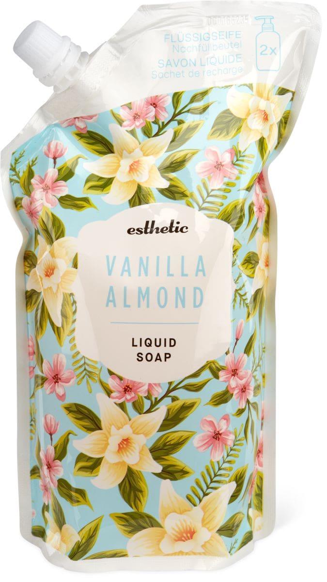 Esthetic Flüssigseife Vanilla Almond Nachfüllbeutell