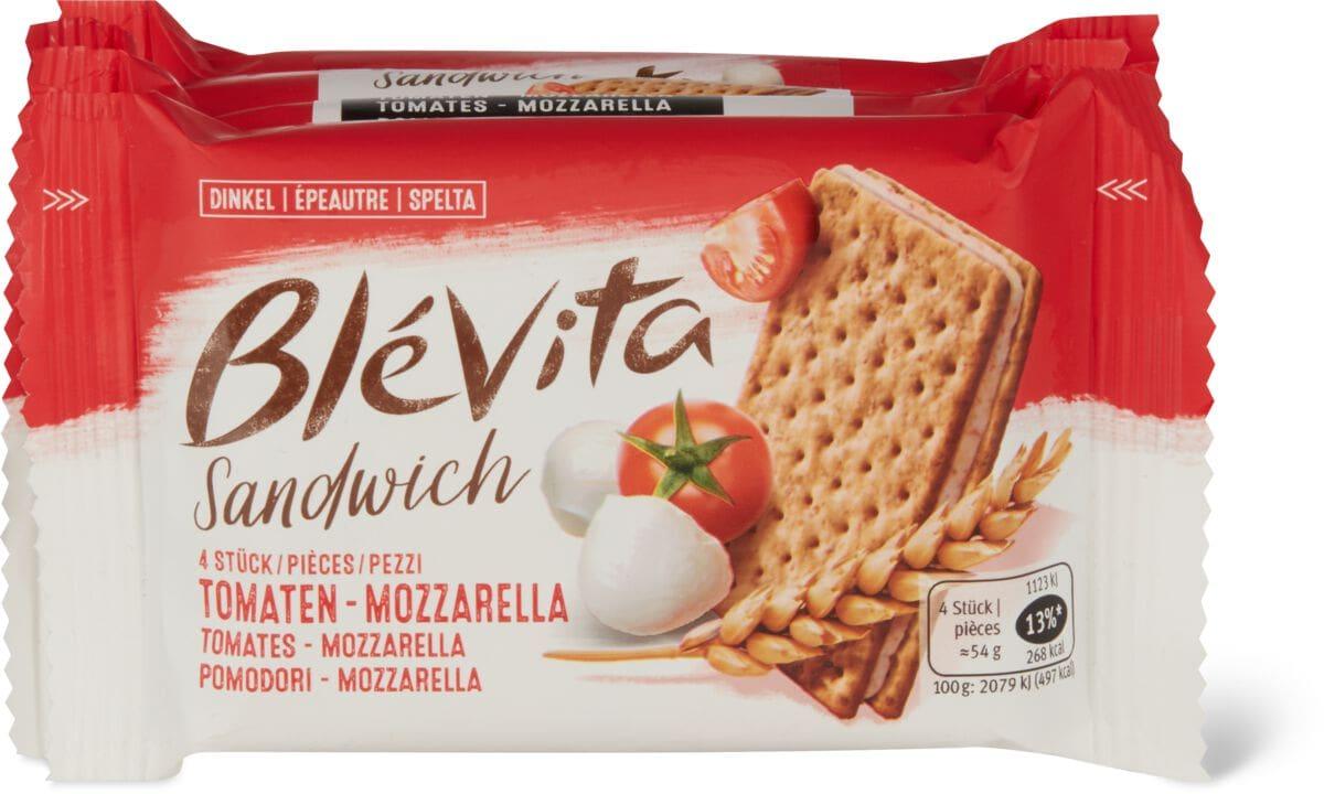 Blévita Sandwich Tomaten-Mozzarella