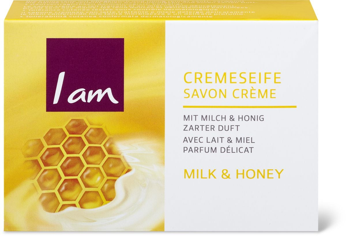 I am Soap Cremeseife Milk & Honey
