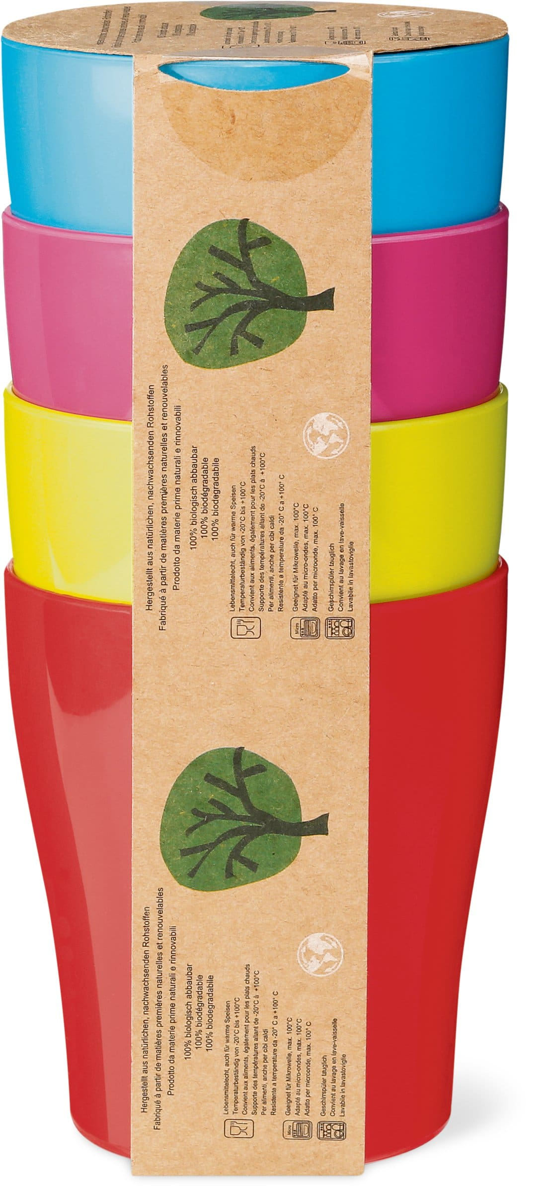 Cucina & Tavola CUCINA &TAVOLA Trinkbecher 4er Set