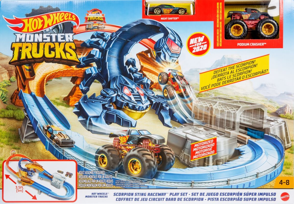 Hot Wheels GNB05  Monster Trucks Set Piste