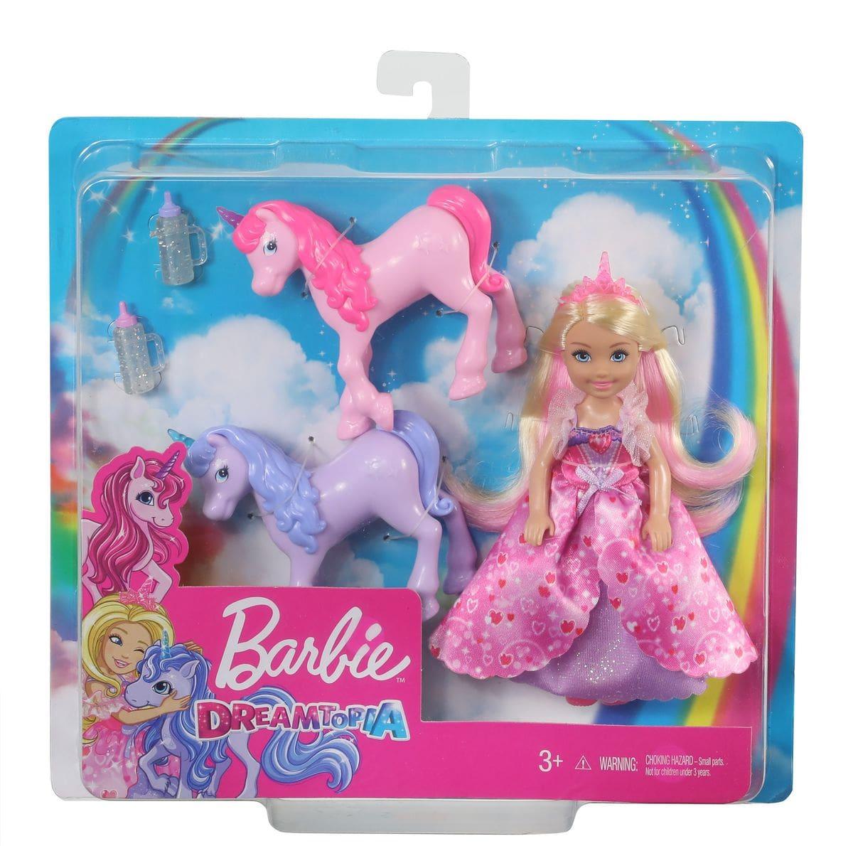Barbie GJK17 Dreamtopia Chelsea Set di bambole
