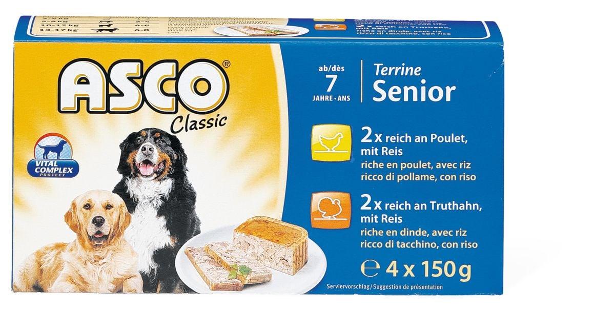 Asco Senior Terrine Geflügel & Reis