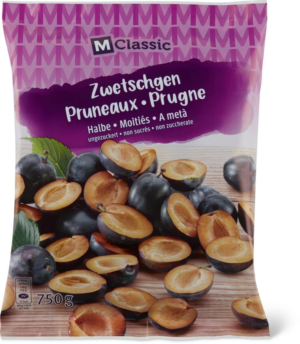 M-Classic Zwetschgen halbe/ungezuckert