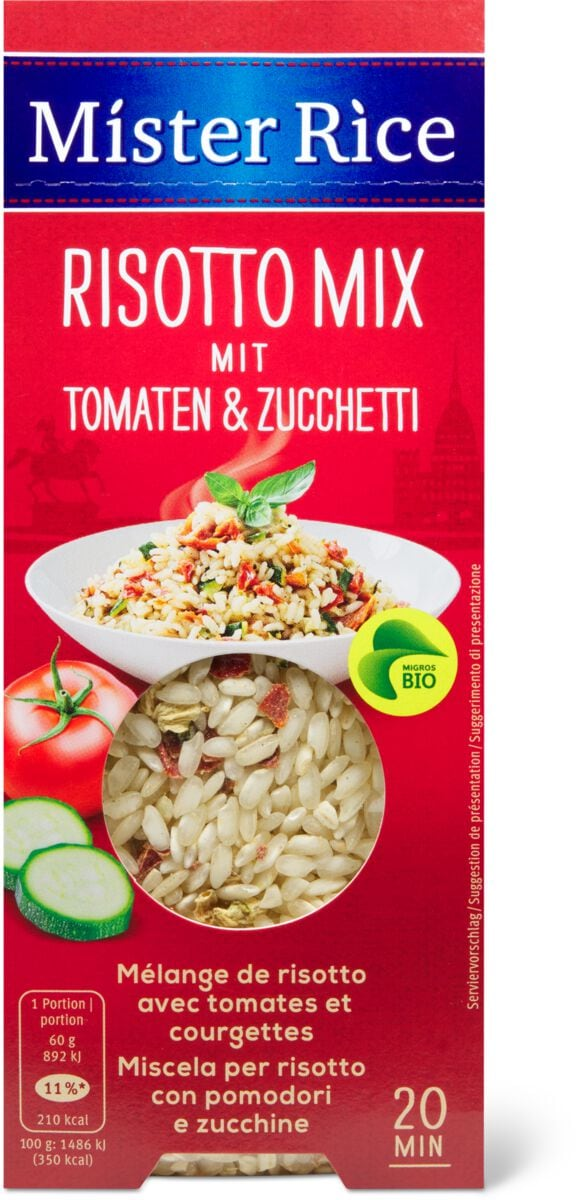 Bio Mister Rice Tomaten & Zucchetti