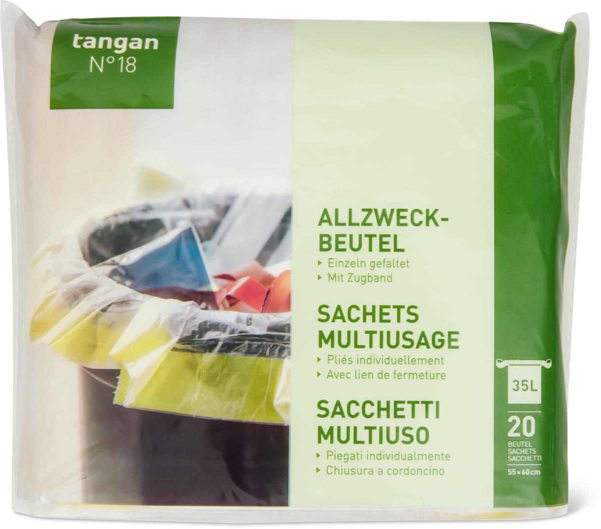 Tangan N°18 Sachets Multiusage 35l