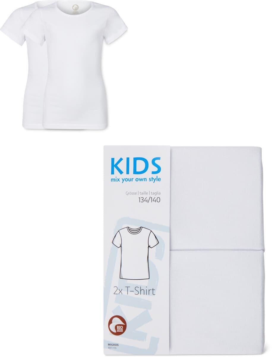 kids bio knaben t-shirt 2er pack shirt