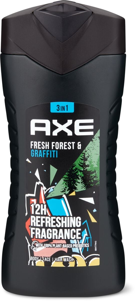 Axe Shower Collision Freshforest & Graffiti