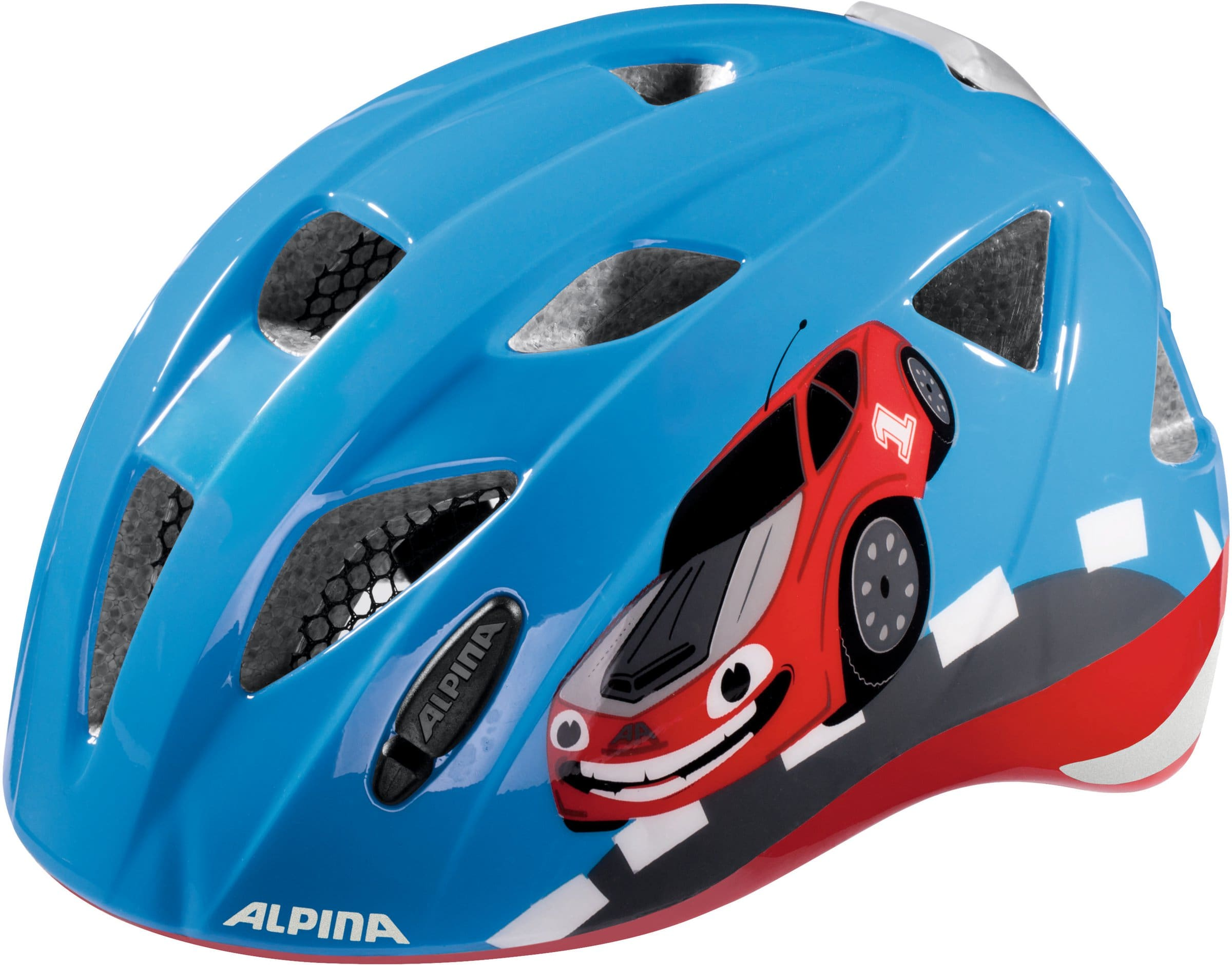 alpina ximo flash kinder fahrradhelm migros. Black Bedroom Furniture Sets. Home Design Ideas
